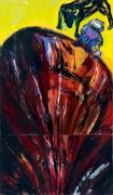 Susterre. Acrylic/oil on canvas, 290 x 170 cm, 1997