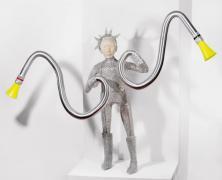 Cyborg, Metallskulpturen