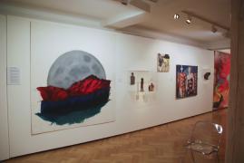 Unter die Haut Überlingen, Installation Wand, Il y a Trois Jours