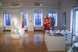 UNTER DIE HAUT. Städtische Galerie Überlingen, 1.Raum, Ansicht 1, 2014
