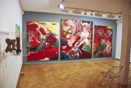 UNTER DIE HAUT. Städtische Galerie Überlingen, 2. Raum, Himmel der Kühe, 2014