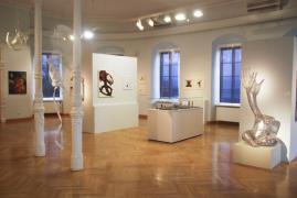 UNTER DIE HAUT. Städtische Galerie Überlingen, 1.Raum, Ansicht 3, 2014
