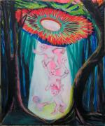 Antidot-Light, 2018, Acryl auf Leinwand, 190 x 165 cm
