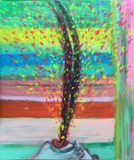 Hatchi. 2018. Acryll auf Leinwand, 90 x 110 cm