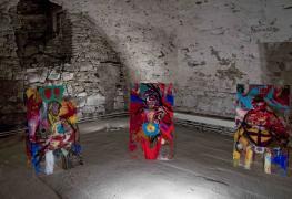 KörperKörper bei der Ausstellung Kunststoff. 5. Treuchtlinger Kunsttage, Treuchtlingen, 2013
