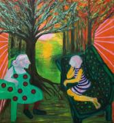 Trance Zwei (Trance Deux), 2016. Acrylique sur toile, 160 x 180 cm