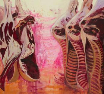 Würdevoll in Pink und Purpur
