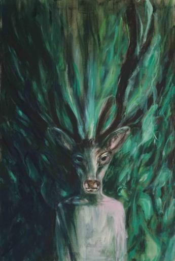 me, Selfie, animals, Deer